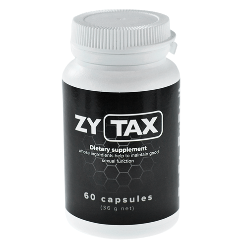 ZYTAX – This is the end of your sexual problems! Feel what real sex is!